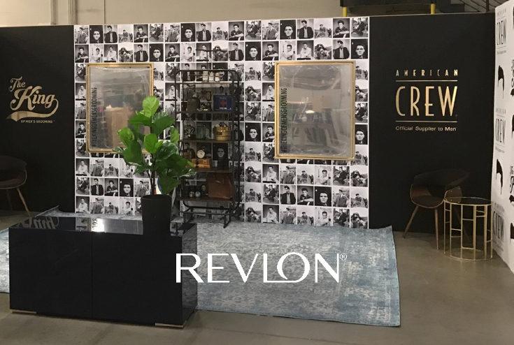 Revlon tradeshow example