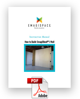 How To Build EmagiBlock Wall