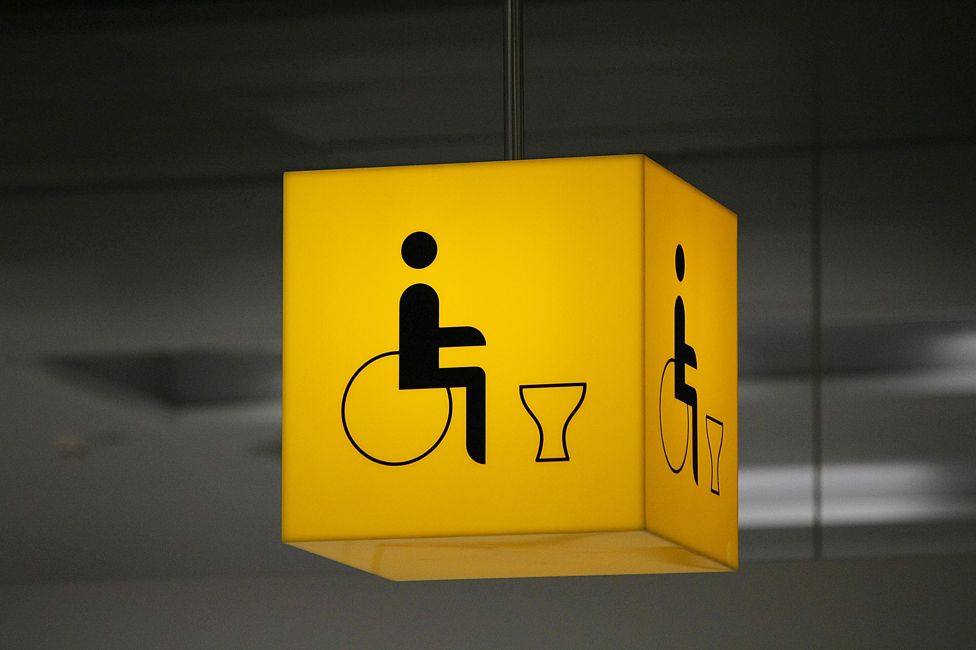 accessible signage - accessible spaces