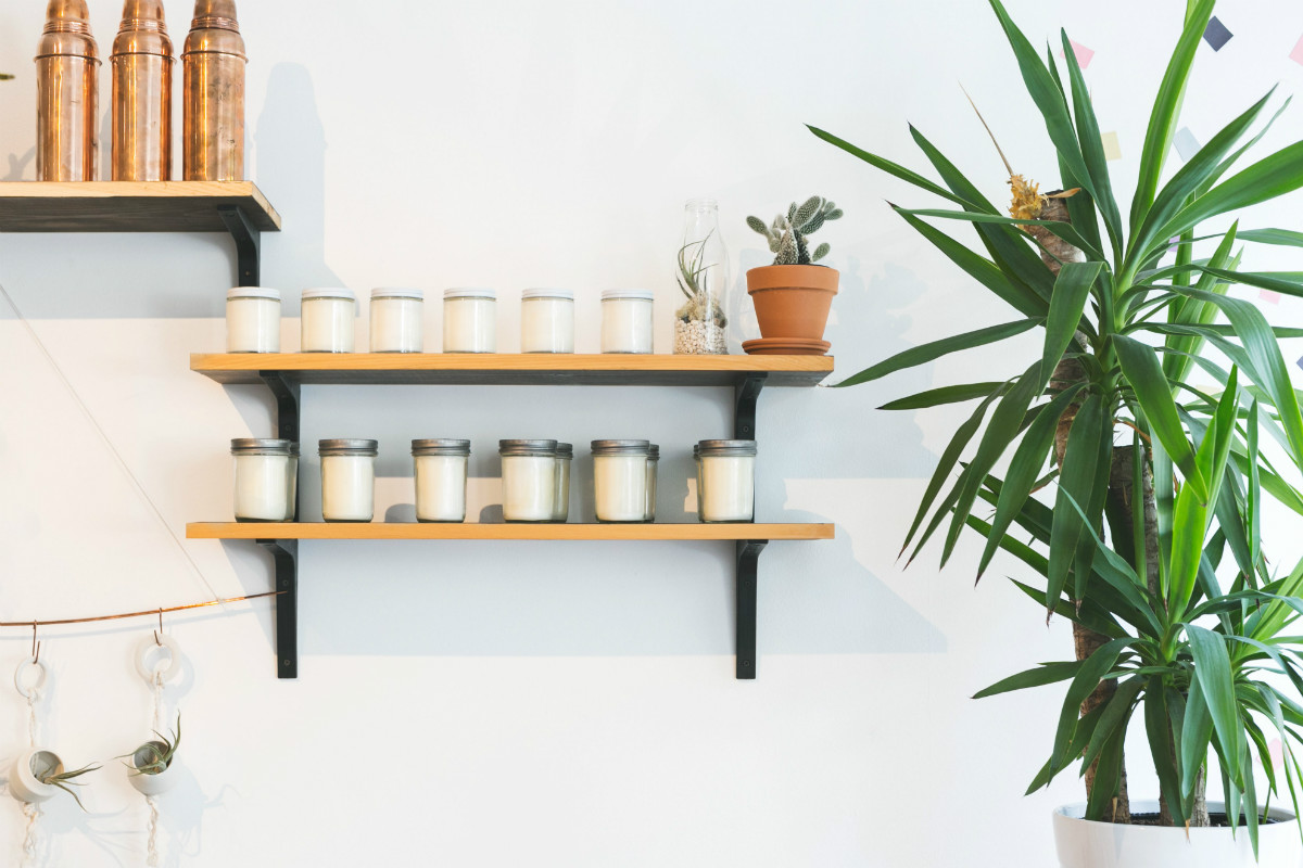 candle shelves