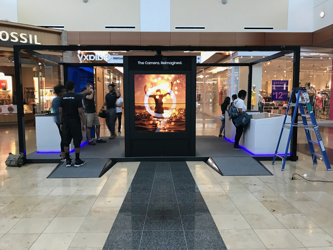 barrows, samsung, emagispace - connected retail